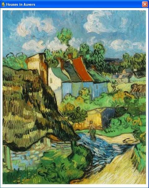 flowers in vase van gogh. quot;Houses in Auversquot; by van Gogh
