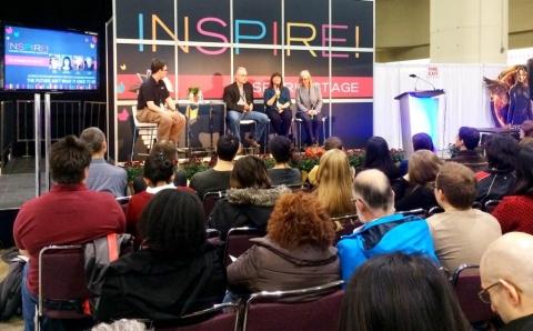 Inspire! TIBF 2014 panel