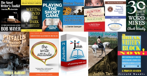 The Write Stuff story bundle covers