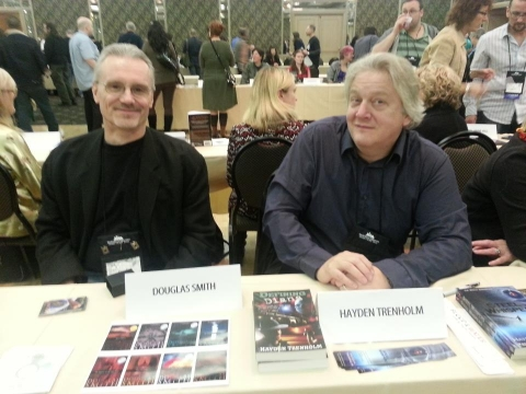 World Fantasy 2012 Doug Smith and Hayden Trenholm