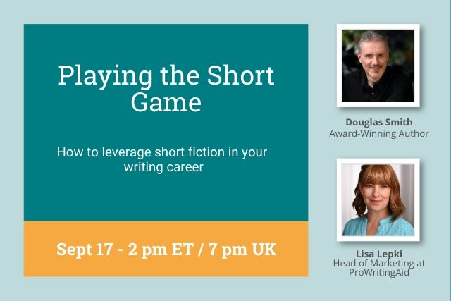 Doug's Short Fiction Webinar