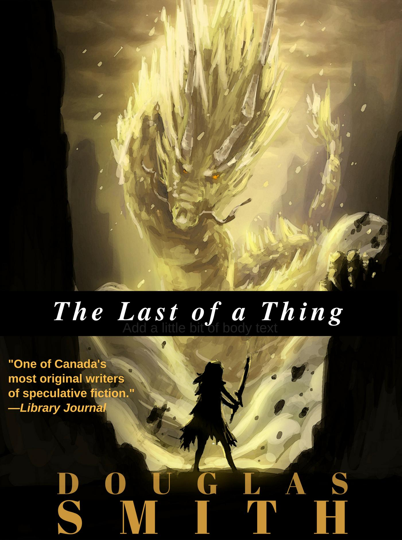 The Last of a Thing cover